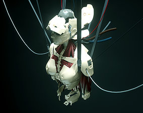 3D model Android Ghost in the Shell SCI FI
