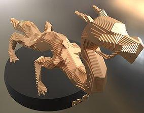 3D asset Parametric Dragon