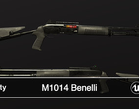 3D model game-ready M1014 Benelli