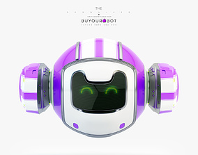 Dog walker VIII bot 3D model
