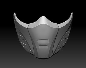 Scarlet and Jade mask for cosplay Mortal 3D print model 4