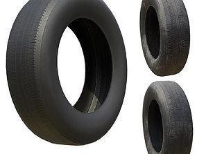 Tire Low Poly more Bonus PBR Option Textures 3D asset