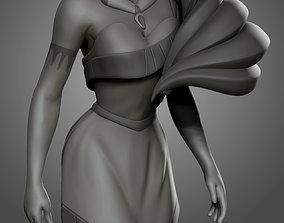 Pocahontas model for 3d print figurines