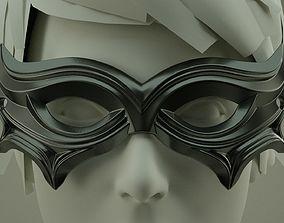 Carnival Mask 02 3D print model printing