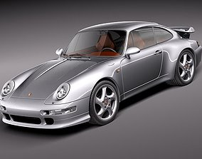 Porsche 911 - 993 Turbo 3D model