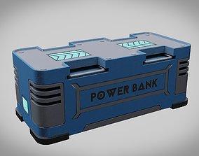 Storage battery Sci-Fi 3D model