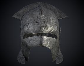 Uruk helmet 3D asset