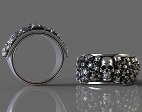 Ossuary Ring 3D print model