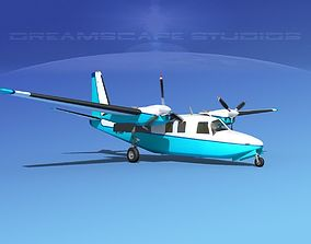 Aero Commander 500 V03 3D