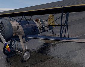 military 3D Boeing F4B - P-12