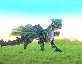 3D model Unka the Dragon