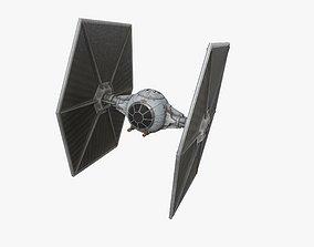 3D model TIE-ln space superiority starfighter