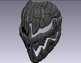 sculpt 3D print model Charred mask