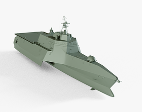 USS Independence LCS-2 3D asset