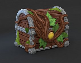 3D model Magic Wooden Chest