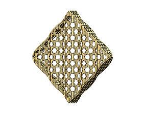 pendants 3D printable model Moucharabieh box pendant