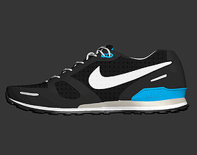 3D model Shoes Nike Waffle Trainer