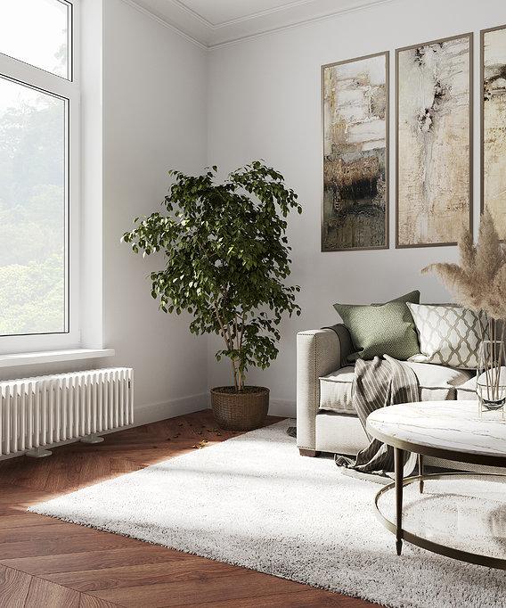 Living room visualization
