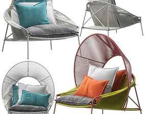 Traveler armchairs by Roche Bobois 3D