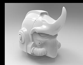 rhino space helmet 3D print model