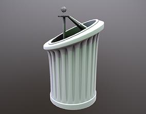 Futuristic Podium 3D model