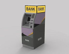 automated teller machine 2000xe 3D