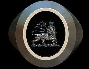 Lion of Judah ring 3D printable model