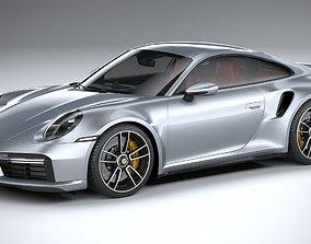 3D model Porsche 911 Turbo S 2021