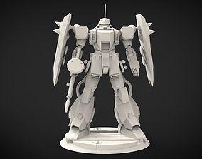 3D print model Zaku Warrior variants
