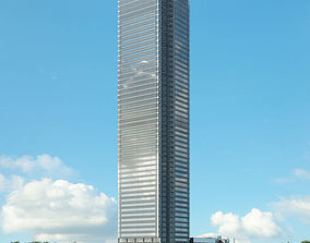3D model skyscraper The New York Times Building