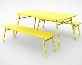 3D Tice Garden Dining Bench