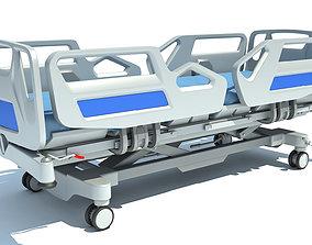 3D Hospital Medical Bed 1