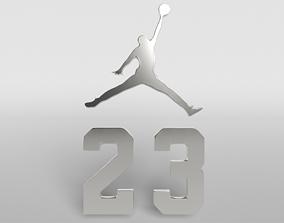 3D model Jordan Logo version2 003