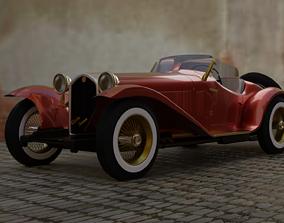 Alfa romeo 8C Grand sport 1931 3D model