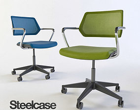 Steelcase QiVi office chair 3D model