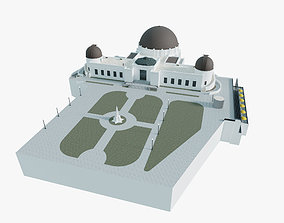 3D model Griffith Observatory