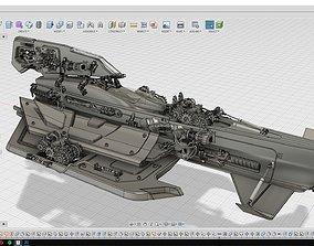Sci-Fi Spacecraft 3D Printable