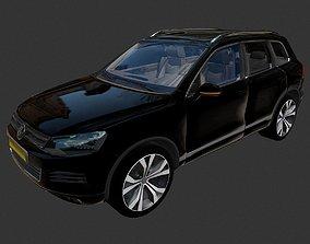 realtime 2017 Volkswagen Touareg Collada Dae Obj Fbx 3ds