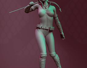 3D print model anime girl blade spygirl