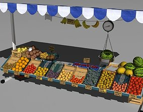 Fruit stand 3D