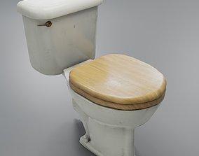 Grungy Toilet 3D model