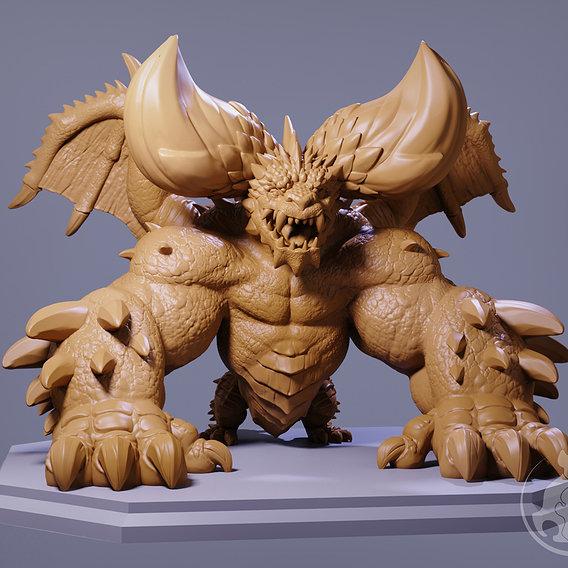 Nergigante Dragon