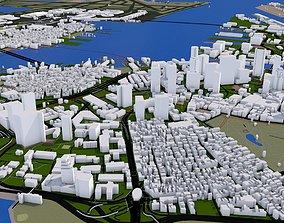 Boston City USA 3D asset