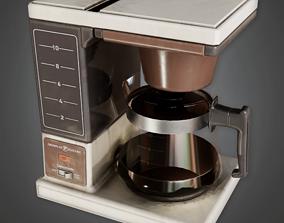 3D model CLA - Coffee Maker - PBR Game Ready