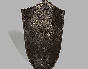 Shield 3D model realtime