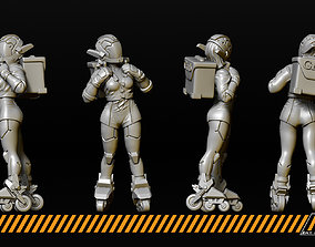 Rollerbabes 3D print model