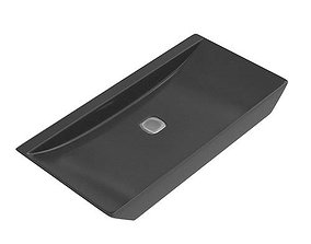 Black Washbasin For Your House 3D