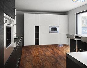 Kitchen Furniture XII 3D model