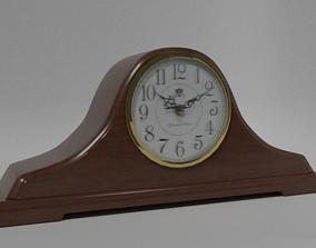 Antique Mantle Clock 3D