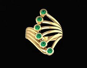 3D print model 1622 Diamond Korea Ring